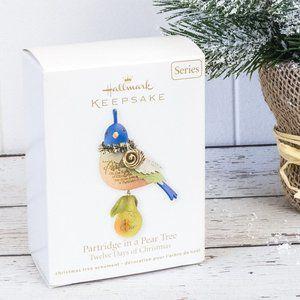 Hallmark 2011 Partridge in A Pear Tree Ornament